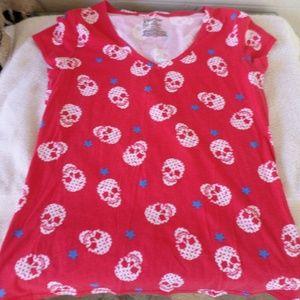No boundaries skeleton t shirt size xl